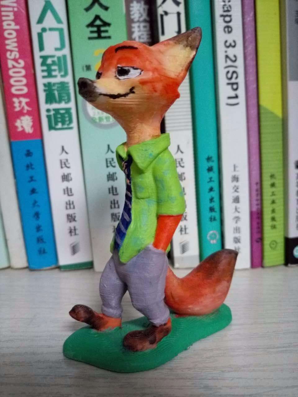 疯狂动物城-尼克狐 by