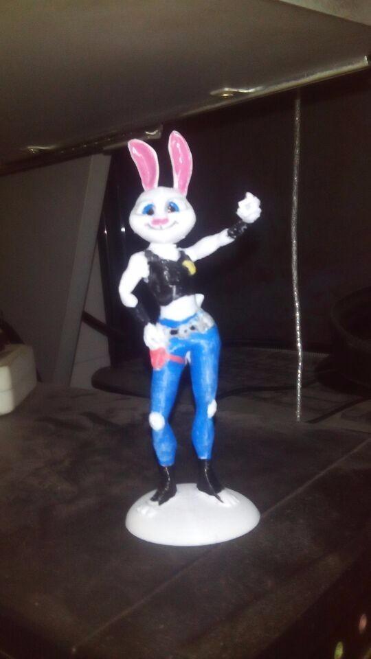 疯狂动物城-兔子朱迪