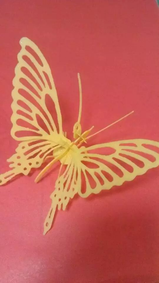 蝴蝶 拼图-3d打印模型