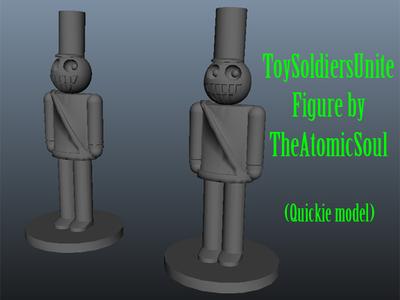 玩具兵联合图-3d打印模型