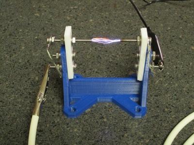 产生高压电火花的支架-3d打印模型