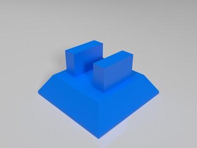 iPhone支架-3d打印模型