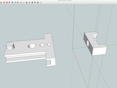 可调iPhone支架-3d打印模型