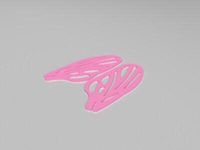 苍蝇立体拼图-益智莫斯卡
