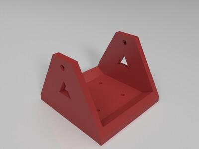 赛格威滑板车轮支架-3d打印模型