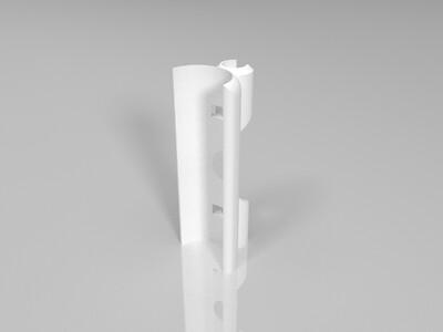 5mm内六角钥匙扣支架-3d打印模型