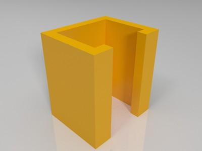 壁挂式手柄支架-3d打印模型