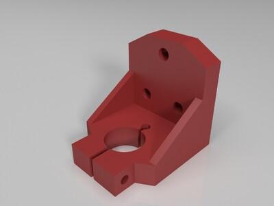 钻安装支架-3d打印模型