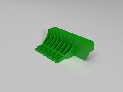 苹果4车载支架-3d打印模型