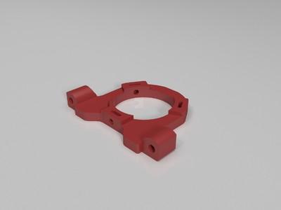 激光管对准支架-3d打印模型