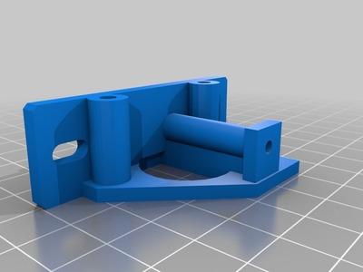 botbd_mk7/qu-bd hotend mount for deltabot-3d打印模型