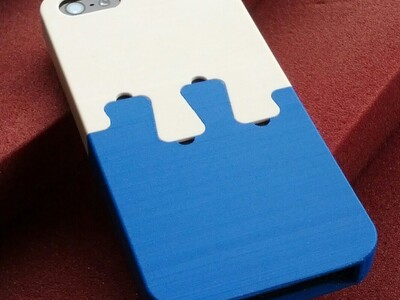 iPhone5 Dovetail Case-3d打印模型