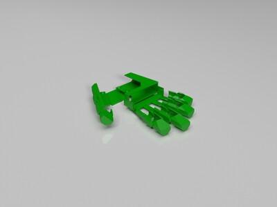 机械手套-右-3d打印模型