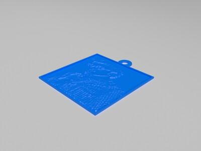 My Customized Lithopane Whatwhenwho?-3d打印模型
