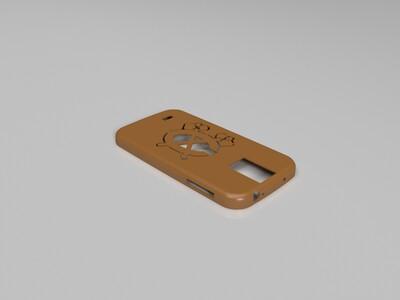Galaxy S4外壳-芝加哥黑鹰-3d打印模型