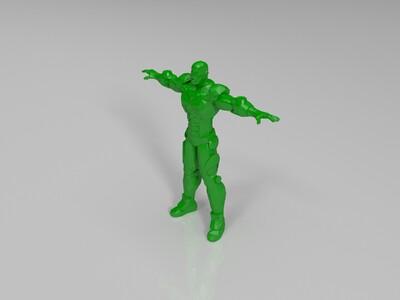 钢铁侠-3d打印模型