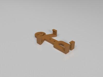 智能手机壳-小人-3d打印模型