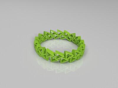 双三角手镯-3d打印模型