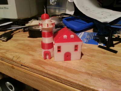 灯塔-3d打印模型