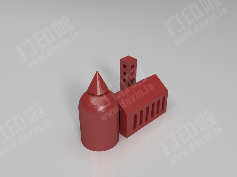 建筑-3d打印模型