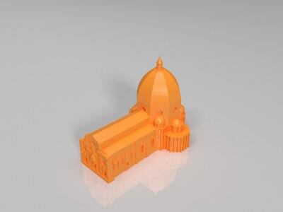 佛罗伦萨大教堂-3d打印模型