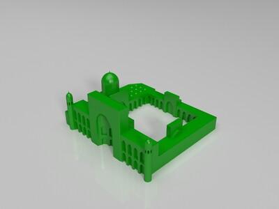 撒马尔罕古城-3d打印模型
