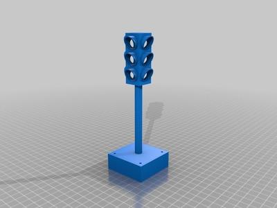 交通警示灯-3d打印模型