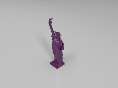 自由女神像-3d打印模型