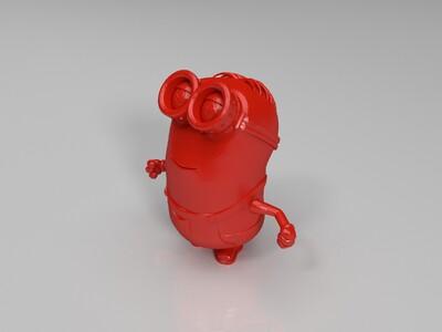 小黄人(奴仆军的奴仆)-3d打印模型
