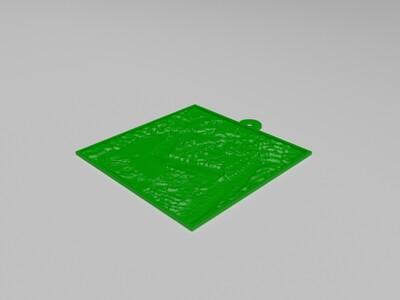 定制周年礼物-3d打印模型
