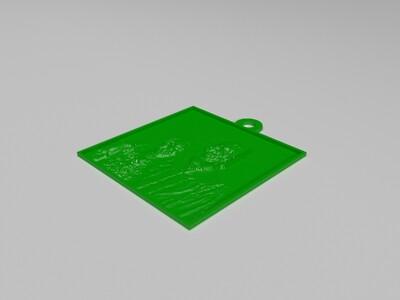 爸爸的生日礼物-3d打印模型