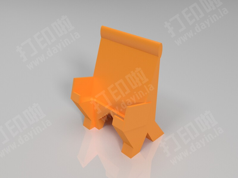 iPhone和iPod充电座-3d打印模型