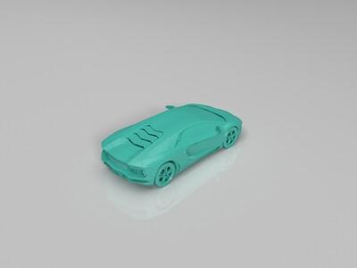 兰博基尼-3d打印模型