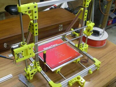 OB1.4开放束三维打印机