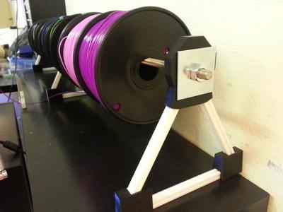 打印机耗材支架-3d打印模型