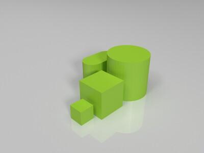 校准集-3d打印模型