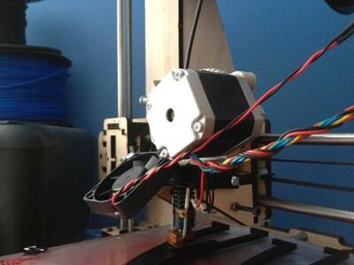 散热风扇安装支架-3d打印模型