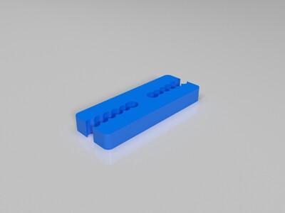 通用丝夹为1.75毫米-3d打印模型
