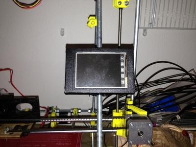 3D打印机触摸屏安装容易安装使用上的RepRap打印机-3d打印模型