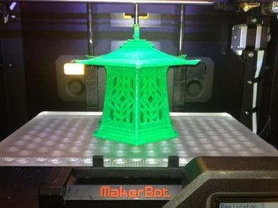 路灯-3d打印模型