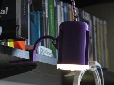 创意台灯-3d打印模型