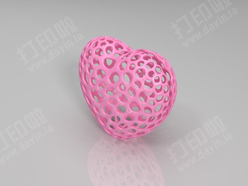 心脏-3d打印模型