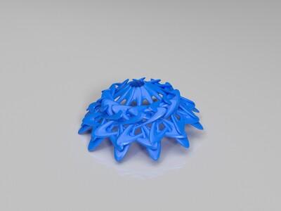 几何灯罩-3d打印模型