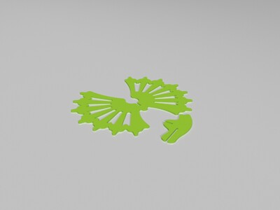 双脊龙3D拼图