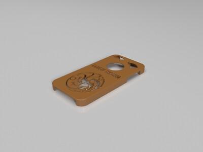 iPhone 5手机壳-权力的游戏-3d打印模型