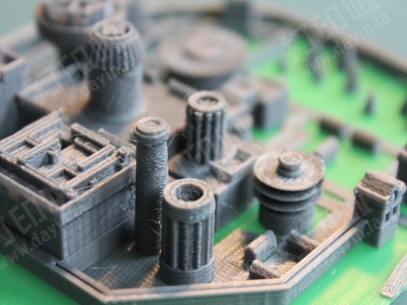 临冬城-权力的游戏-3d打印模型