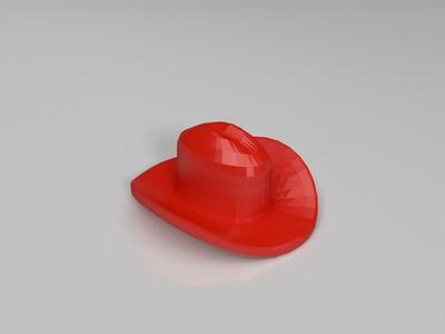 牛仔帽-3d打印模型