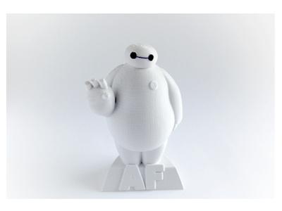 大白-超能陆战队-3d打印模型