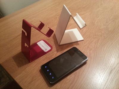 手机座-3d打印模型