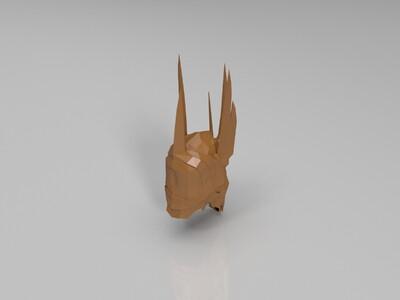 索隆头盔 - 指环王-3d打印模型